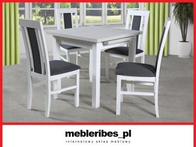 Zesta 25 stół GUVII + 4 krzesła NKII mebleribes_pl
