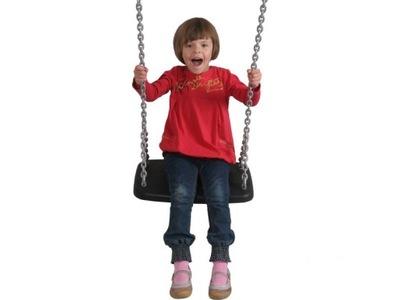 Hojdačka pre deti - XXL výkyvná sedačka s kovovou vložkou
