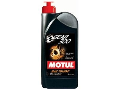 Olej przekładniowy MOTUL GEAR 300 75W-90 ESTER 1L
