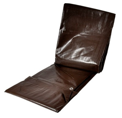 Krycia plachta - Celta - Plachta 2x4m hnedá hrubá super kvalita 200g