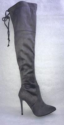 Muszkieterki szpilki 37.Obcas 11cm