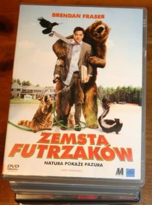 ZEMSTA FUTRZAKÓW   DVD