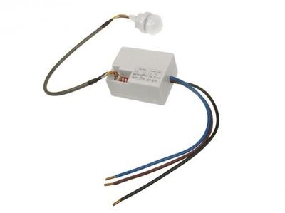 Czujnik ruchu Czujka zmierzchu sensor PIR mini230V
