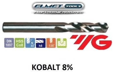 Wiertło FI 16,25 HSSCo8 KOBALT 8% DIN1897 YG-1