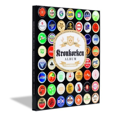 Leuchtturm - Альбом для крончатых пробок для пиво Шестьдесят четыре штук .