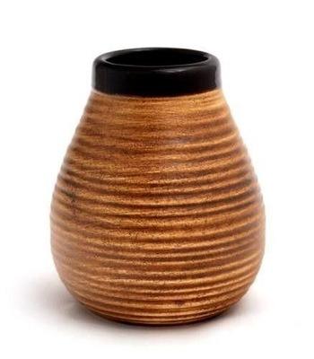 керамические Коричневый полоски 350 мл