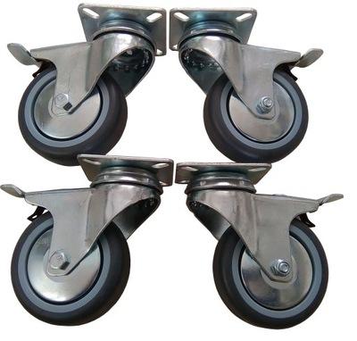 комплект 4 штук .  кольцо Колеса кольца 75 мм 200 кг.