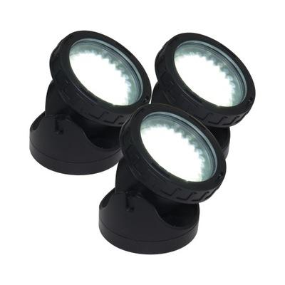 ЛАМПА - комплект 3 ФАР LED СВЕТ белое
