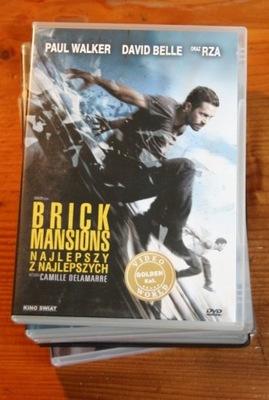 BRICK MANSIONS NAJLEPSZ Z NAJLEPSZYCH    DVD