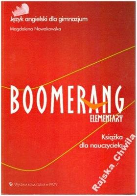 Boomerang Elementary Książka dla nauczyciela NOWA