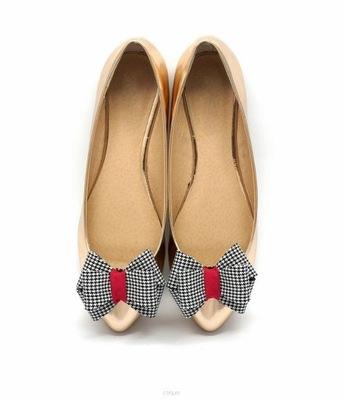 Klipsy do butów COQUET: Kokardy 3D - Autumn Pepito