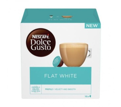 кофе Nescafe Dolce Gusto Flat White 16 Капсул