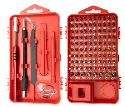 комплект точных инструментов 108 CRV Отвертки