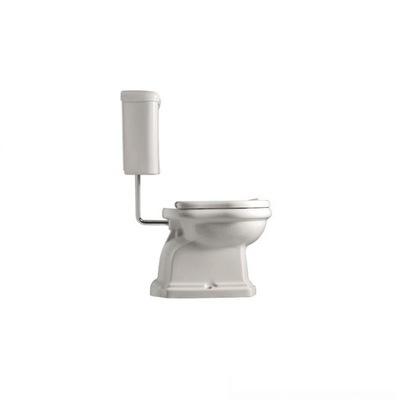 WC misa - Kerasan Retro set. Stojanová nádoba + nádrž