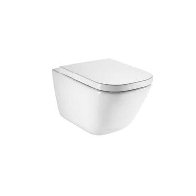 WC misa - Záchodová zástena Roca Gap je zavesená bezšnúrová Maxi Clean