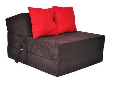 Кресло раскладной сложенный 15cm МАТРАЦ пуф диван
