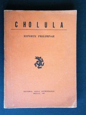 CHOLULA REPORT PRELIMINAR MEKSYK 1967