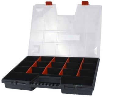 Box na náradie - Organizátor nástrojov s rukoväťou 18 oddielov HIT