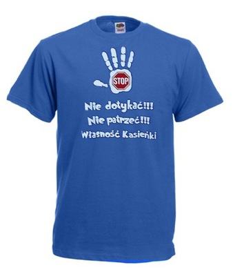 T-shirt Koszulka -Własność Kasieńki rozm. M