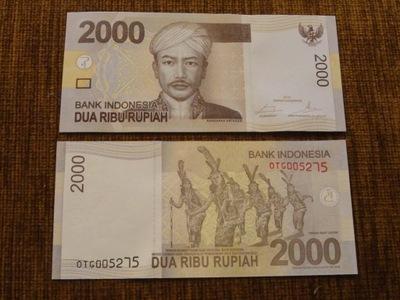 340.INDONEZJA 2000 RUPI UNC