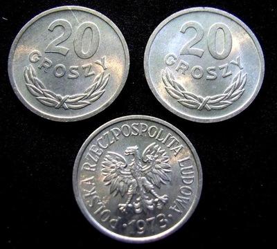 20 groszy 1973 zz stan   menniczy , ładne