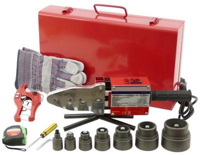 Sada na zváranie, zváračka - Zvárací stroj PP PP PVC 2700W 16-64mm WELDERS