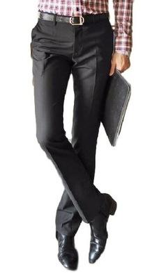 275e34e6f6692 Spodnie garniturowe r. 34 7744950882 - Allegro.pl