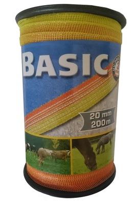 ZÁKLADNÉ Pásky 20 mm 200 żółtopomar. pre pastiera