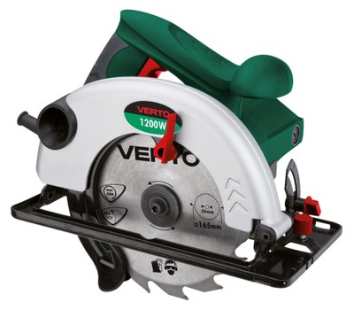 Píla - VERTO CIRCULAR SAW 1200W 165MM 52G682