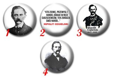 Hipolit Cegielski - Przypinka