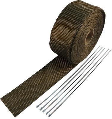 Bazaltowy повязку termoizolacyjny TURBO 30м +повязки