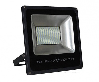HALOGÉNOVÉ LAMPY FLOODLIGHT 200W LED= 2000W SLIM IP6
