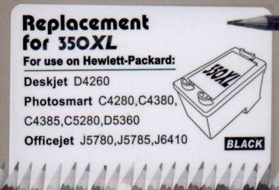 Tusz 350 XL czarny do drukarki HP Warszawa   350xl