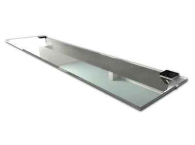 DODATEK PÓŁKA SZKLANA pod lustro prysznic 80x14