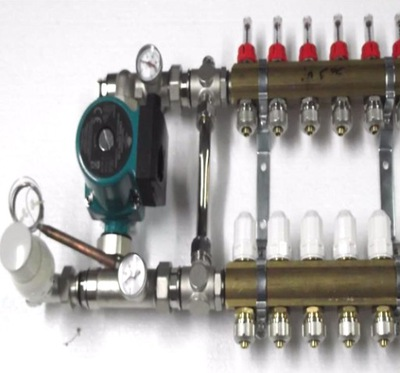 Predné podłogówki 6 čerpadla ventily .600