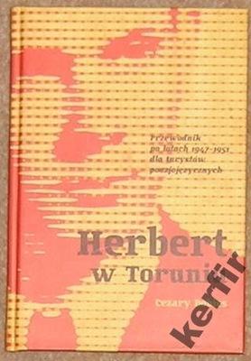 Cezary Dobies HERBERT W TORUNIU 1947-1951