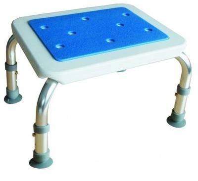 Стульчик смесители для ванны Табурет прямоугольный BLUE Herdege