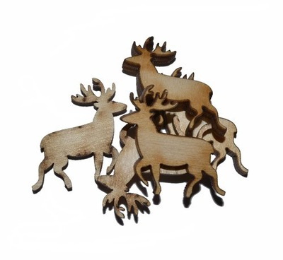 наклейки BN4 ?????????? рождественские олень олень _