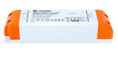 Osvetlenie nábytku LED pás - Zasilacz LED 30W 2,5A 230V 12V IP21 HB-DU 224699