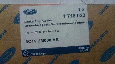 Iveco Bremsbelagsatz Scheibenbremse 2912303