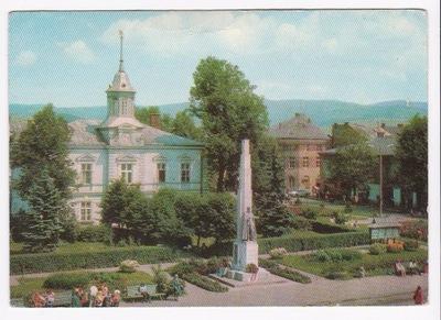 ПП 567 Новый Рынок Ратуша и памятник Владислава Orkan