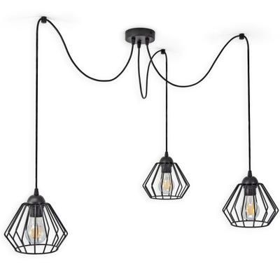 """LAMPY DRÔT PRÍVESOK """"SPIDER"""" DIAMOND 724-S3 LED"""