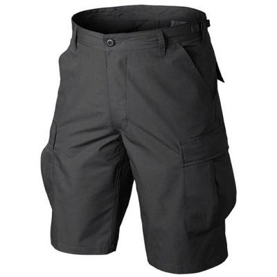 HELIKON Spodnie Krótkie Wojskowe BDU Czarne XL