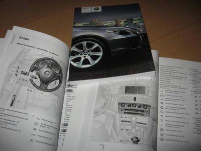 BMW SERII 5 E60 60 ИНСТРУКЦИЯ ОБСЛУЖИВАНИЯ POLSKA E61