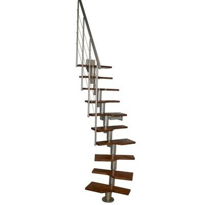 Schody modulárny BARD model 120 ROZMEDZÍ 11 prvky