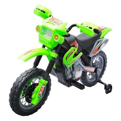 MOTOREK ELEKTRICKÝ MOTOR HOMCOM zelená
