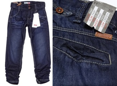 69adeac08ad973 fajne jeansowe spodnie dla dziewczynki roz.134 - 7557743197 ...
