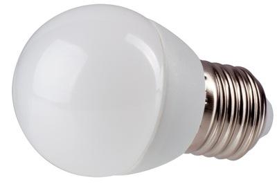 Лампа LED E27 720LM 8W ТЕПЛА ??? мини G45
