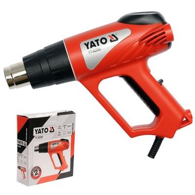 YT-82288  ! Пистолет горячего воздуха 2000W 350 / 550 C Yato