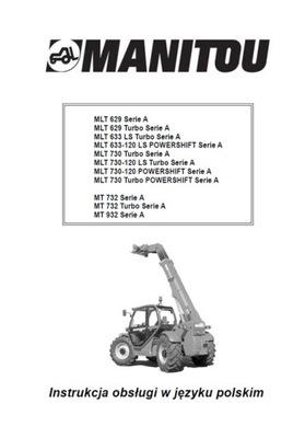 MANITOU MLT 629, 633, 730 SERIE A - ИНСТРУКЦИЯ PL